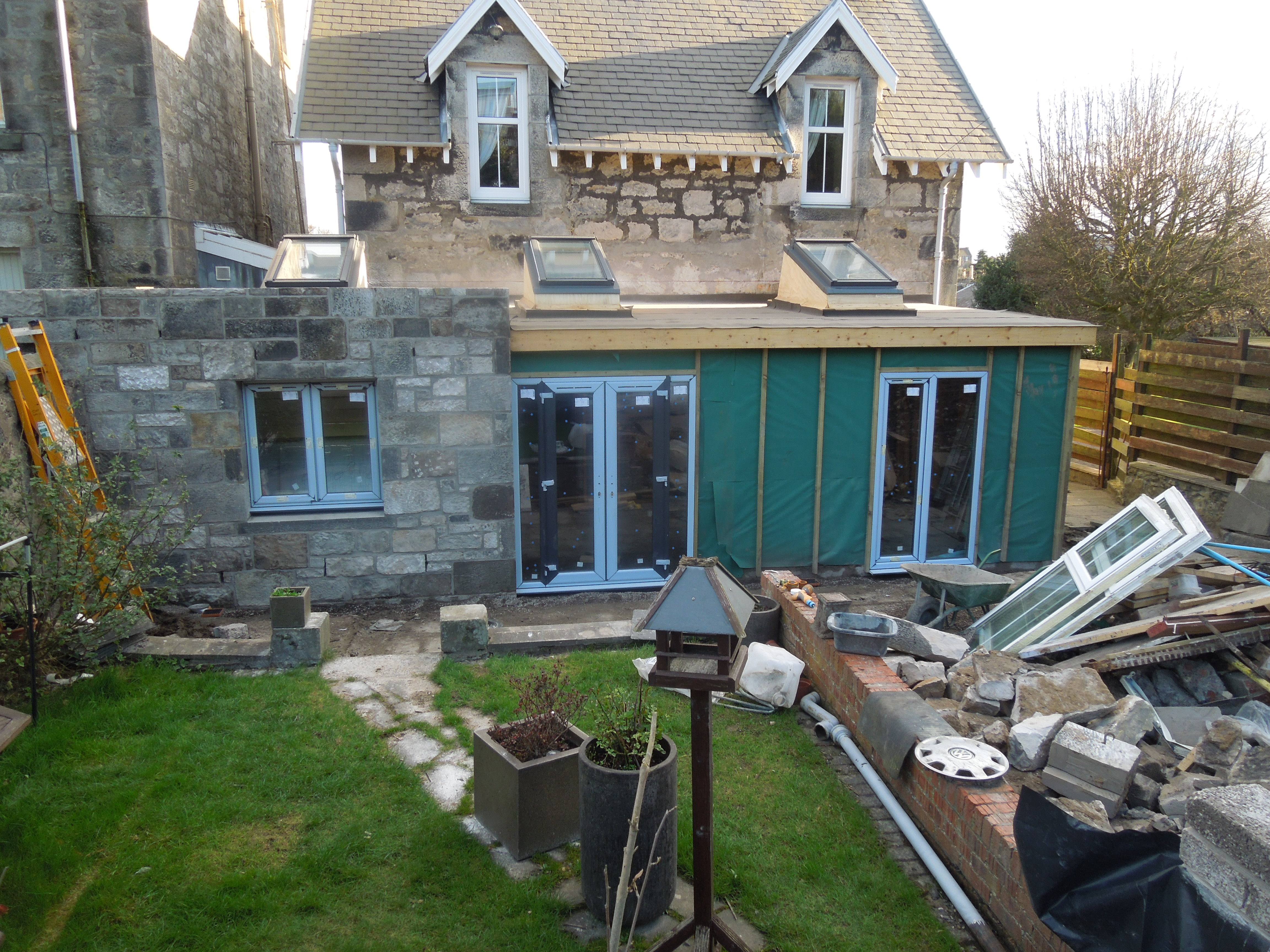 Extension nearly completed