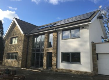 Self Build Home in Northumberland