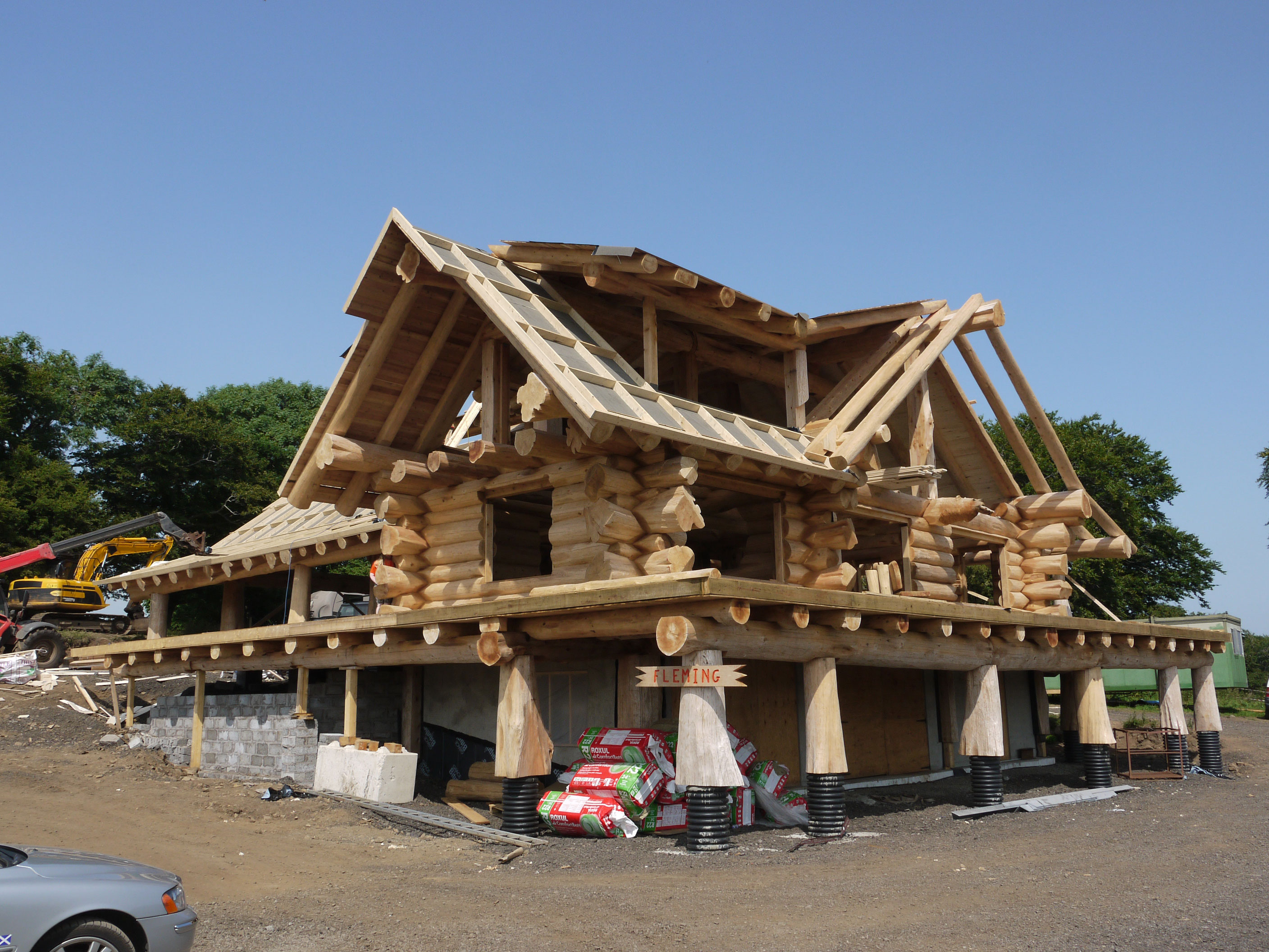 Log Home Self Build