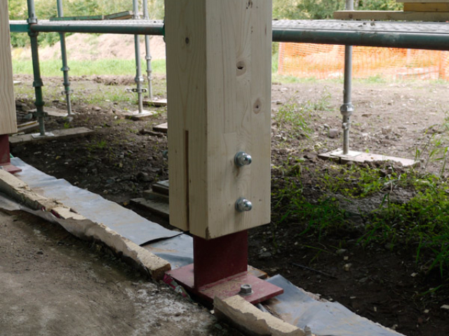 Timber Frame Construction Method