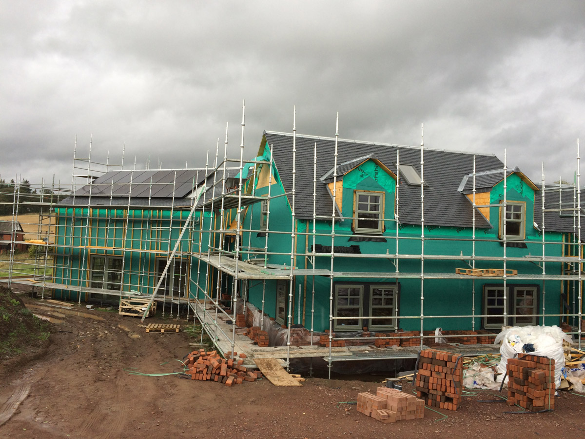 Financing a Self Build Construction