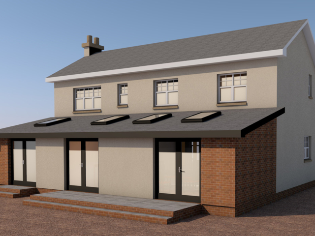 Cupar extension Option 1