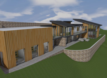 Contemporary Hillside House – Burntisland, Fife