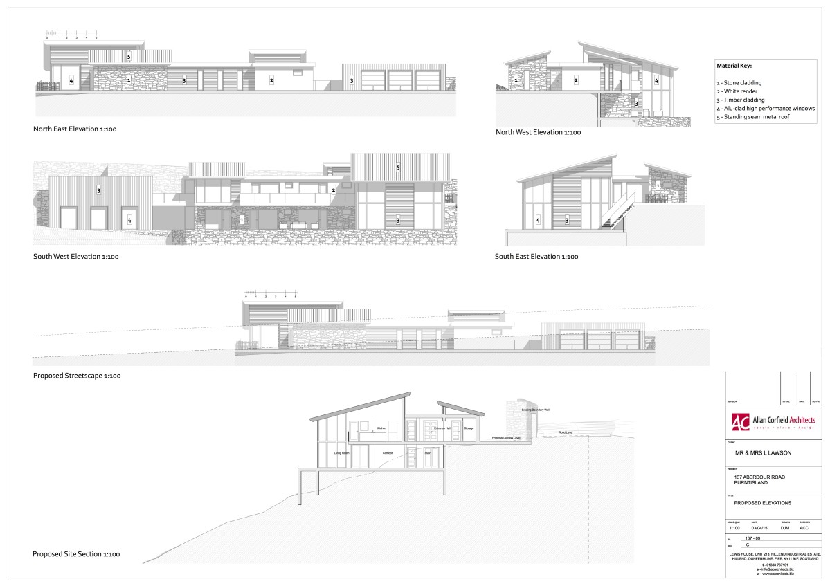 Existing Drawing - House Extension - ACA