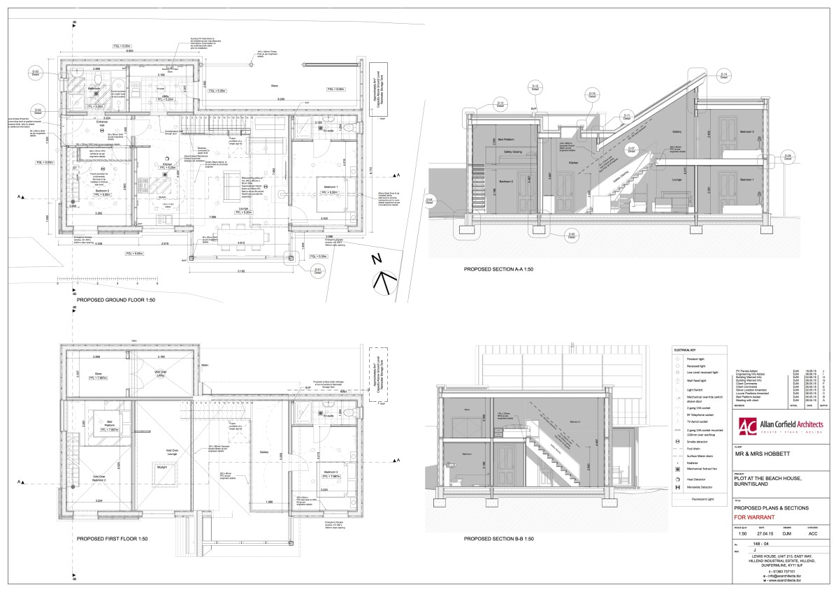 Planning Drawing - House Extension - ACA