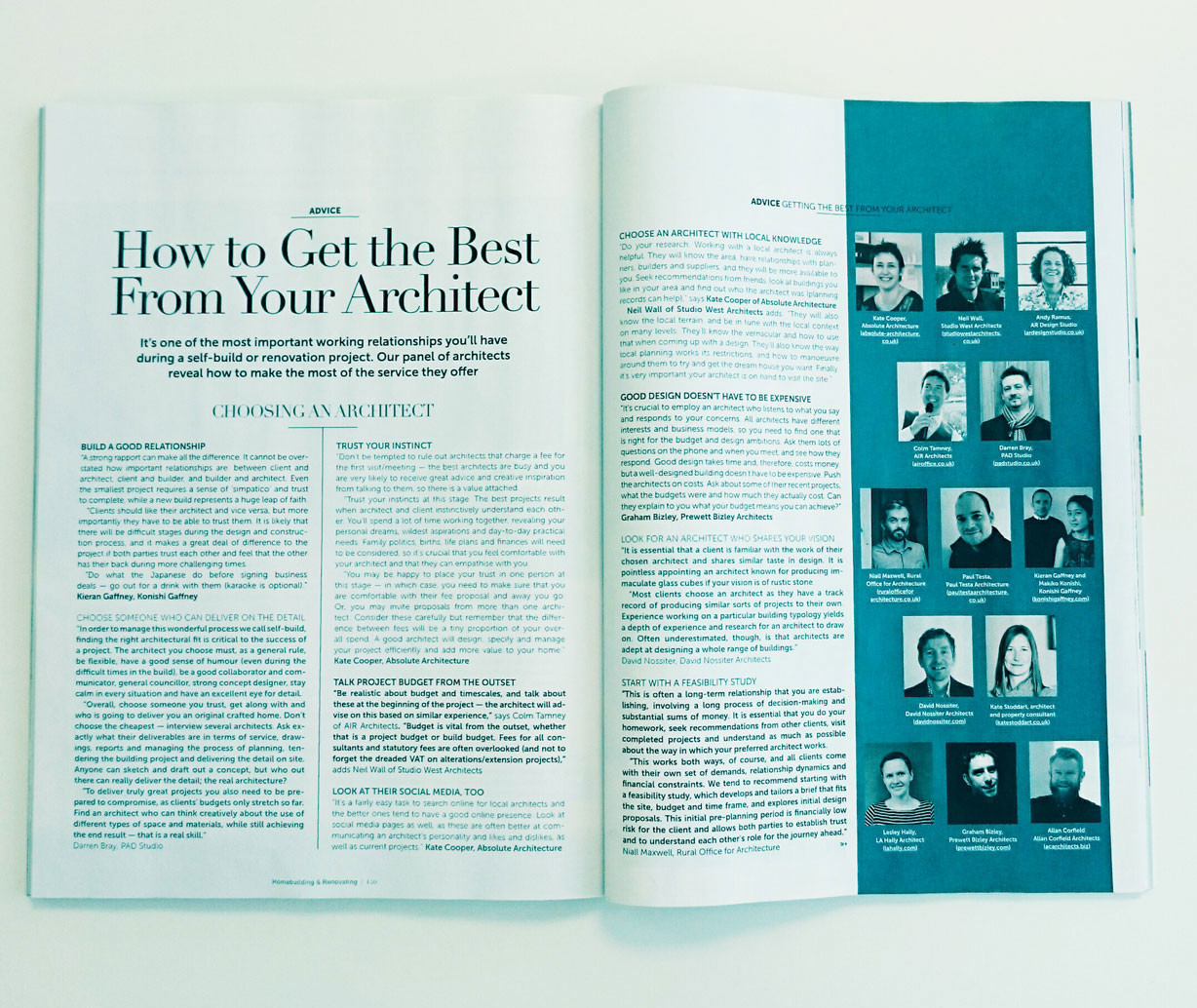 Architect Tips Article HBR Magazine