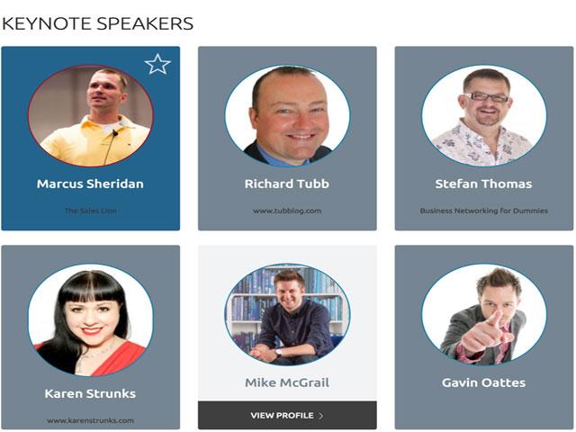 TCMA Speakers