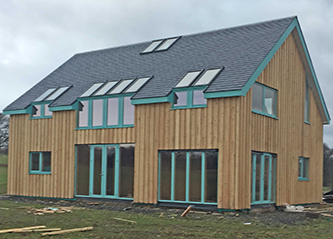 Low energy self build home Tullymoran