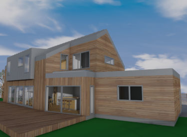 Contemporary Timber Frame Self Build, Lasswade