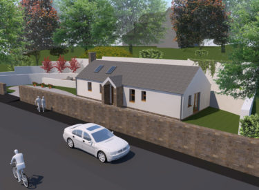 Traditional Development Plot, Milnathort