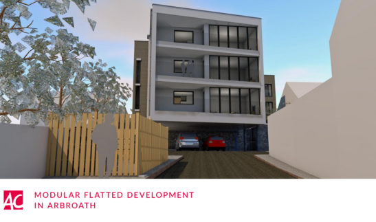 modular flatted development arbroath
