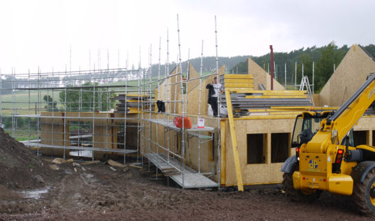 Self Build SIPs Home – Biggar