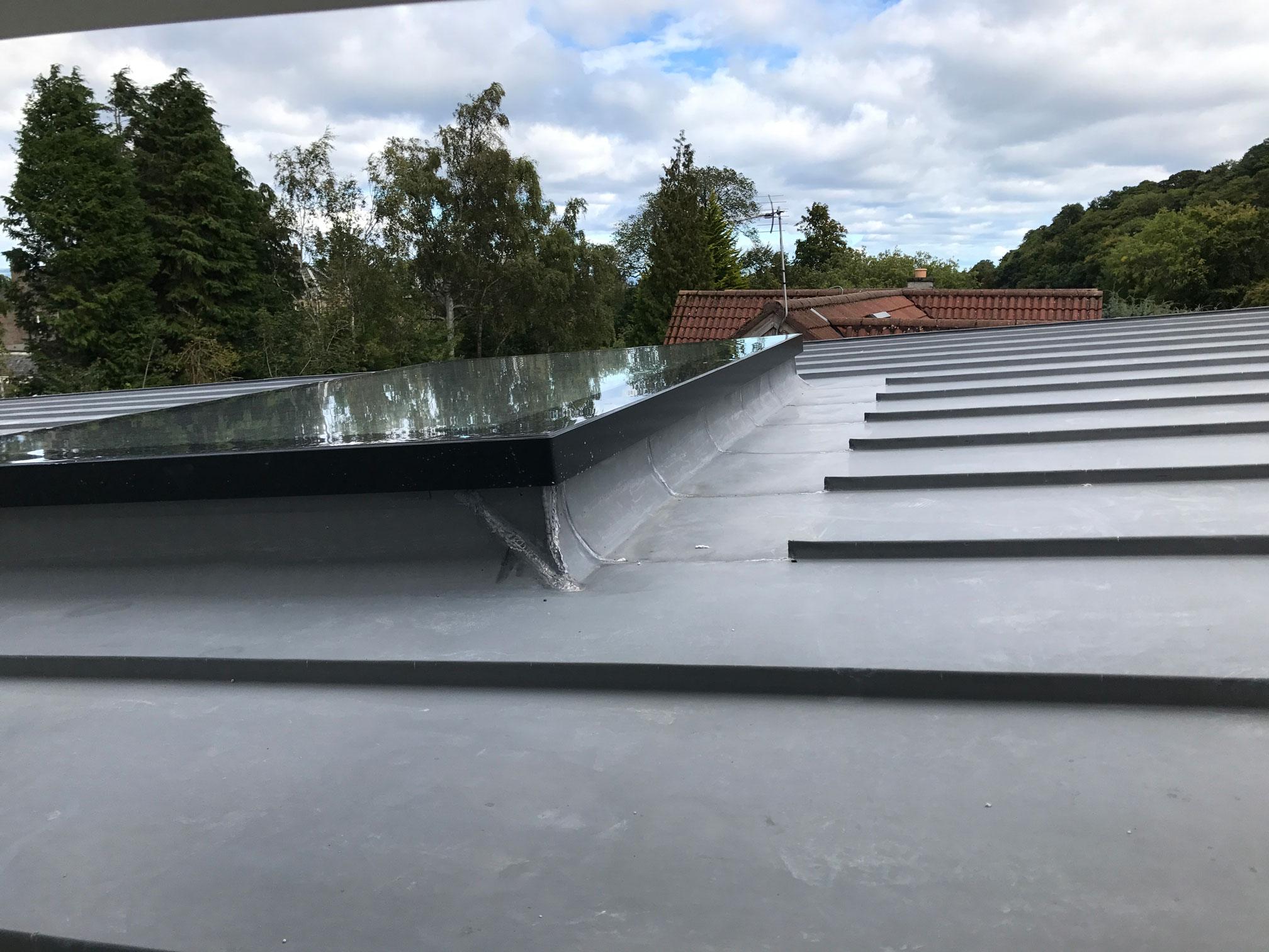 Metal roof Edinburgh