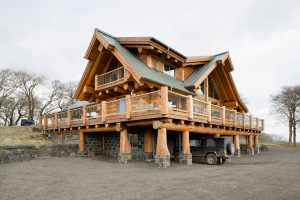 Passive house eco house zero-carbon house