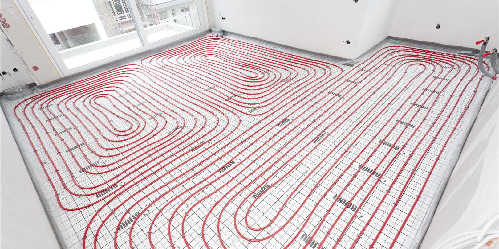 Underfloor heating rehaus