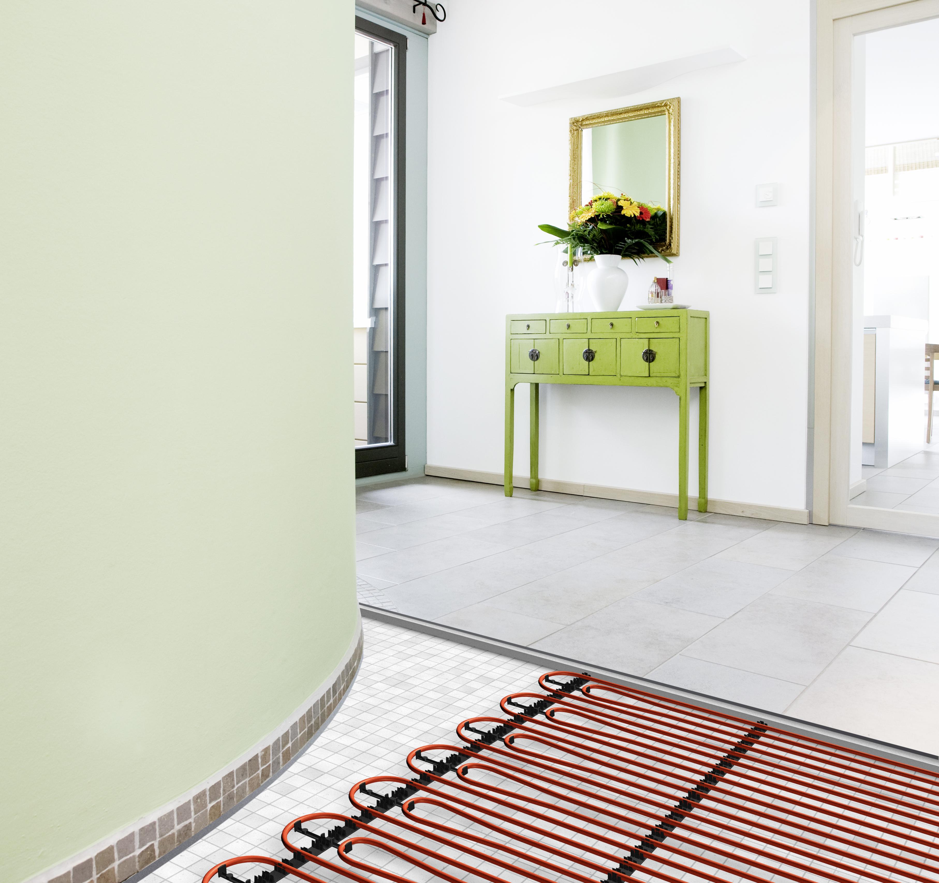 underfloor heating REHAU