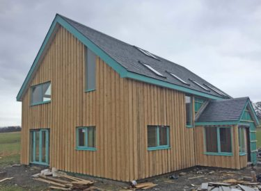 Low-Energy Self Build SIPS House at Tullymoran, Perthshire