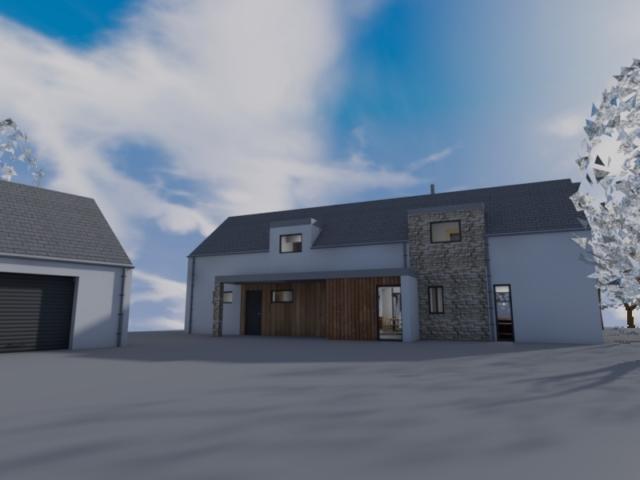 Scotlandwell Self Build home ACA