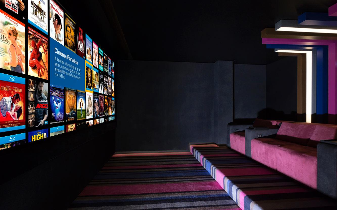 home cinema adept is aca self build