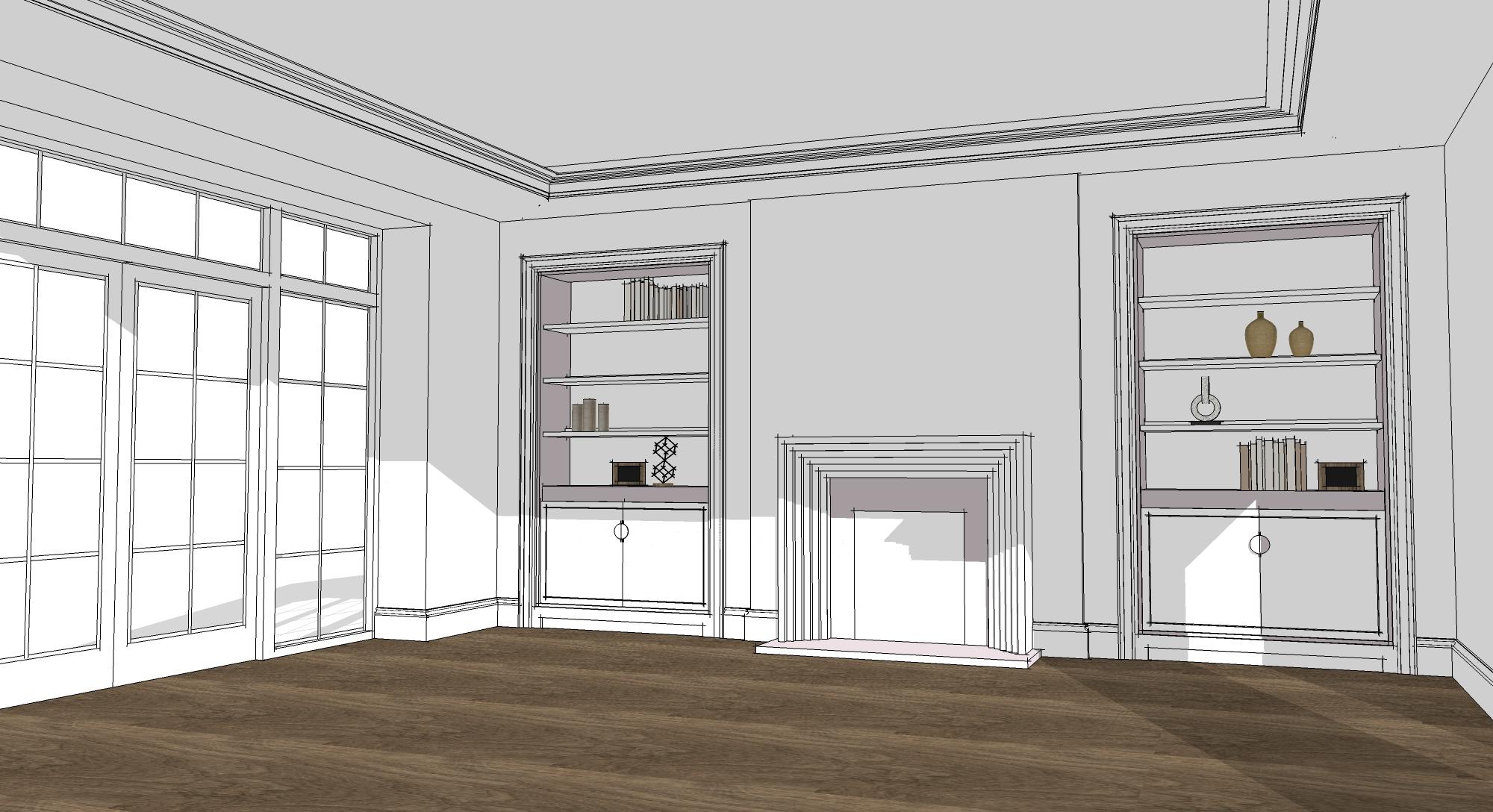 John Evans Interior Designer Design ACA Allan Corfield Self Build