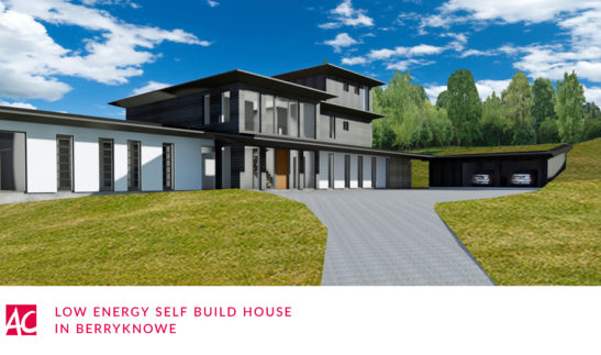 Low energy self build glenfarg