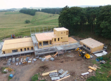 Low Energy Self Build House, Glenfarg