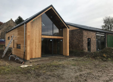 Modern Barn Conversion And Extension, Fife