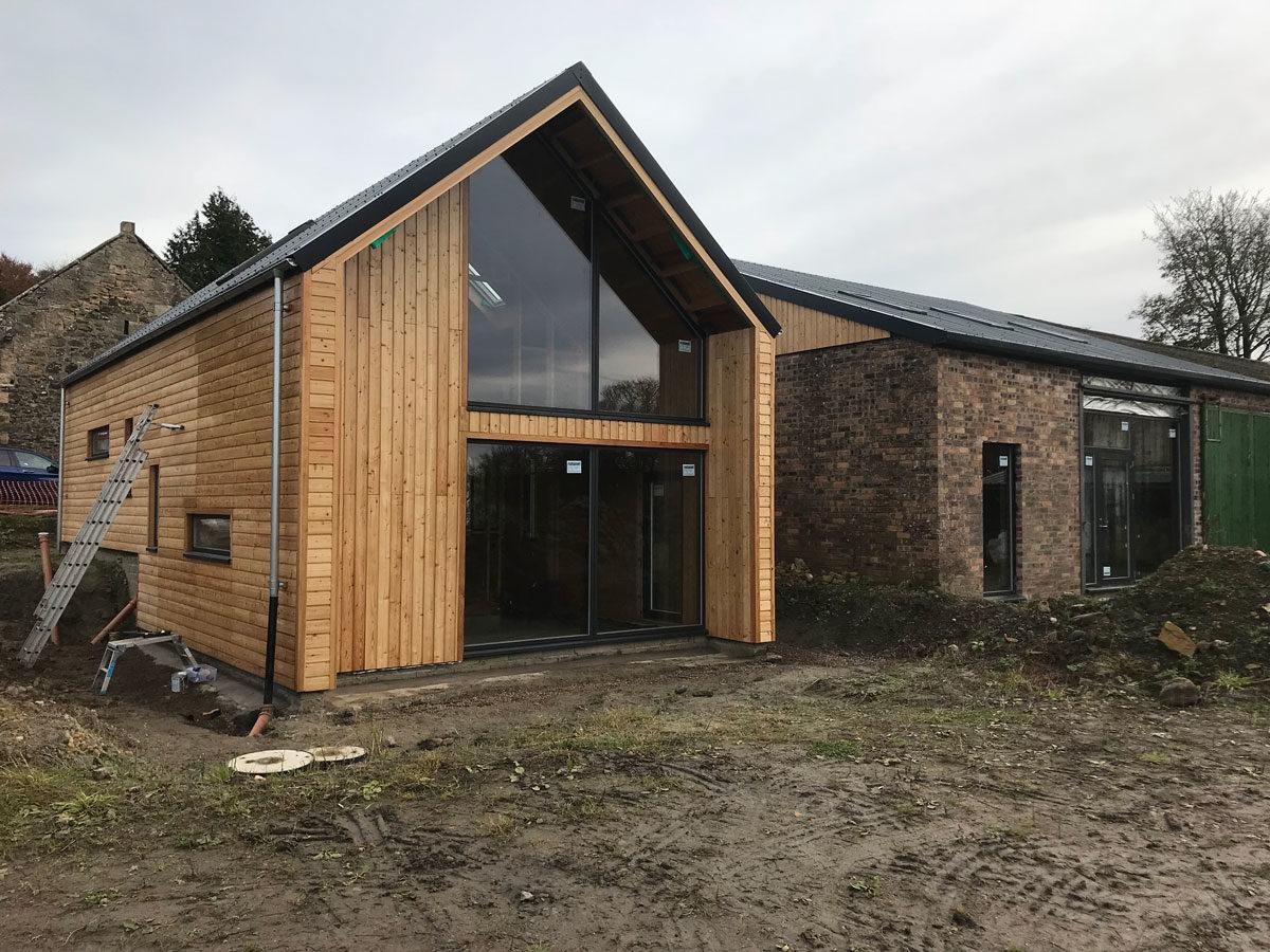breathtaking barn conversion architecture | Modern Barn Conversion and Extension in Fife, Scotland