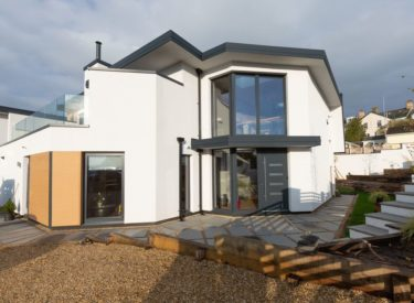 Contemporary Self Build Eco Homes in Bishopsteignton, Devon