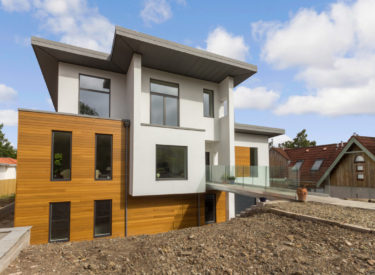 Contemporary Style Replacement Dwelling Self Build, Edinburgh
