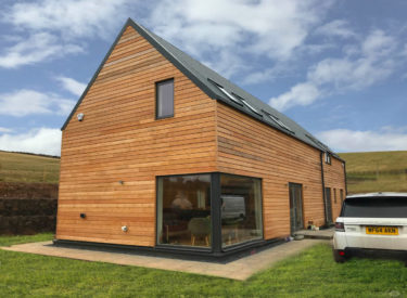 SIPs Eco House in Duns, Scottish Borders