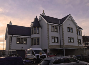 Low Energy Sips Self Build In Kinghorn, Scotland