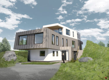 Contemporary Self Build Eco Home in Craobh Haven, Scotland