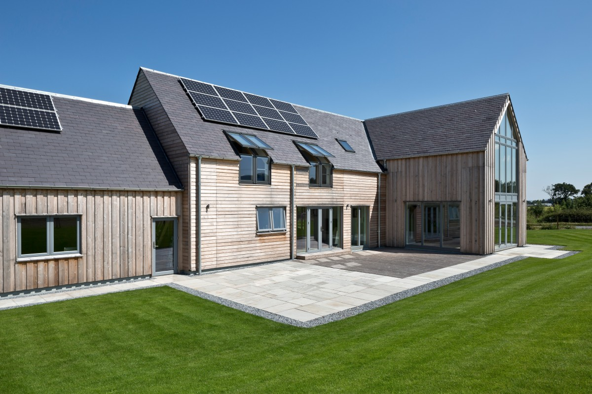 designing energy efficient self build