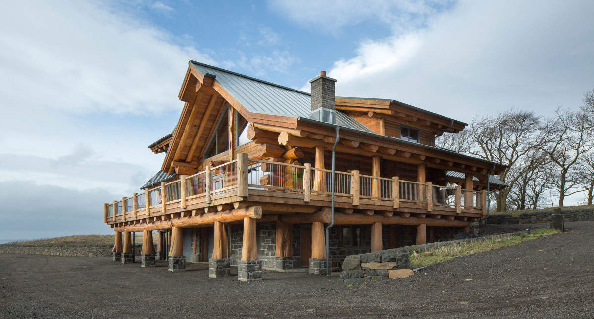 self build construction systems log homes