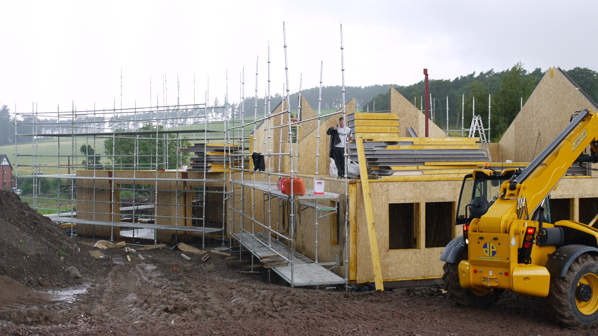 financing self build mortgage
