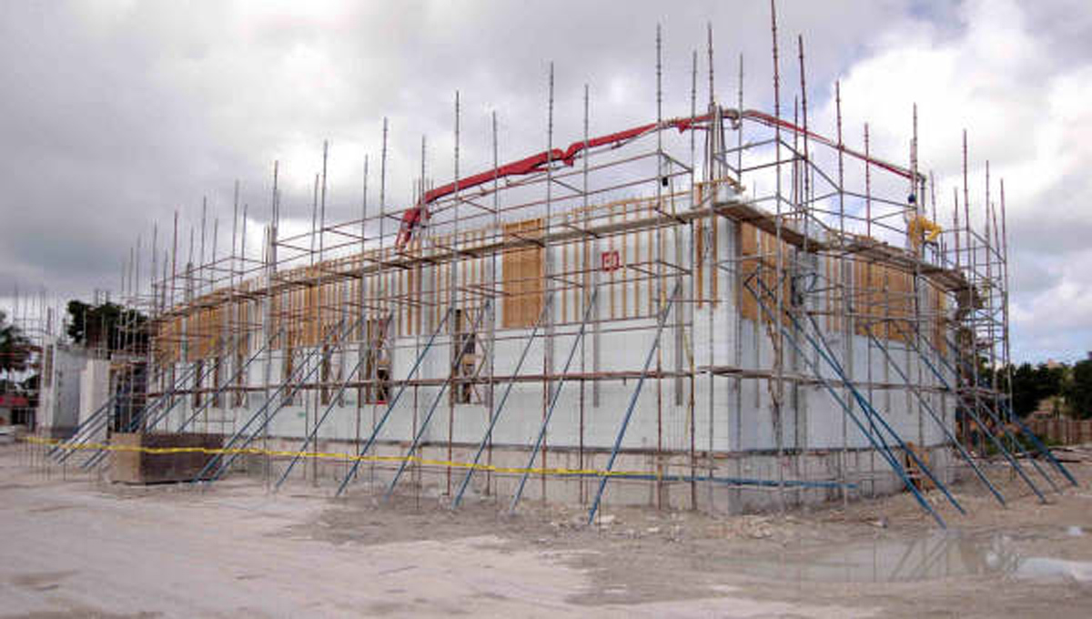 Self Build Construction Systems ICF Insulated Concrete Formwork