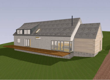 Energy Efficient Self Build Home on the Isle of Eigg