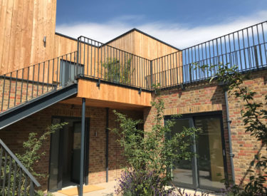SIPs Eco Flats in Chichester, West Sussex