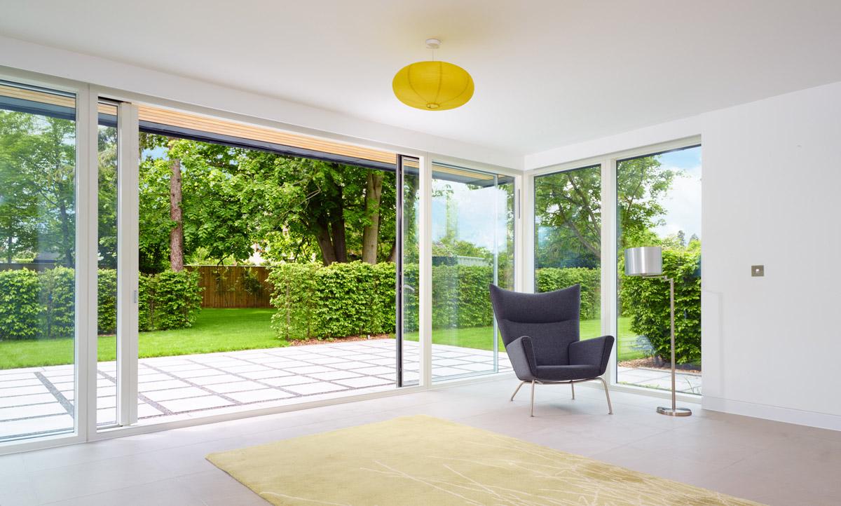 velfac bi-fold sliding doors