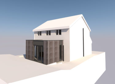 Small house extension in Burntisland