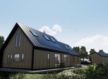 Fabric first home in Ullapool