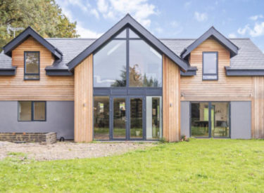 Low Energy SIPS Self Build In Swarraton, Hampshire