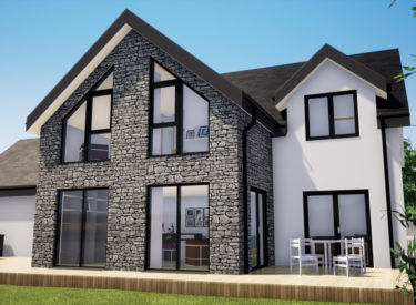 Low Energy Self Build in Lucklawhill, Fife