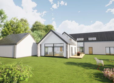 Longhouse Style Eco dwelling in Blairgowrie, Perth & Kinross