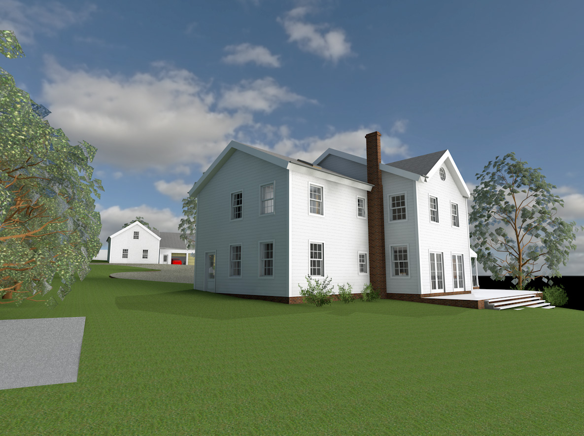 New England Style Low Energy Home